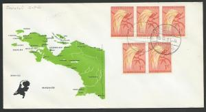 NETHERLANDS NEW GUINEA 1961 cover ENOROTALI cds............................52874