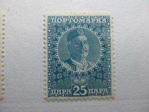 Montenegro 1913 25p Fine MH* A5P17F309