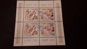 Europa CEPT - Cyprus Turkish 1982.  ** MNH Block
