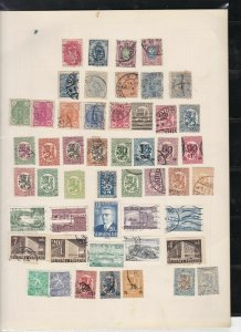 finland stamps page ref 17979