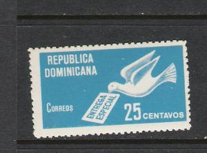 DOMINICAN REP. DOMINICANA E9 MOG DOVE Q116