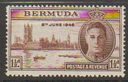 Bermuda SG 123  Mint Very Light Hinge