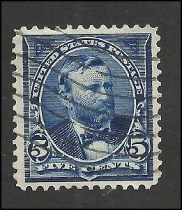 # 281 Dark Blue Used Ulysses S. Grant