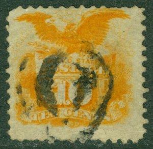 EDW1949SELL : USA 1869 Scott #116 Fine, Used. Catalog $140.00.