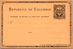 Colombia, Government Postal Card
