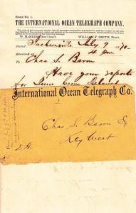 1870, International Ocean Telegraph Co., See Remark (20401)
