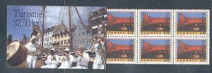 Denmark Sc 1031 1995 Roskilde Festival stamp booklet mint NH