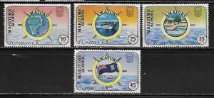 Tuvalu 166-9 1982 Martime School set NH