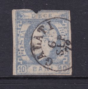 Romania an 1869 10b used but fault