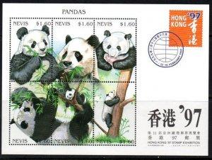 1997 Nevis 1080-1085KL Panda 10,00 €