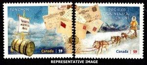 Canada Scott 2468-2469 Mint never hinged.