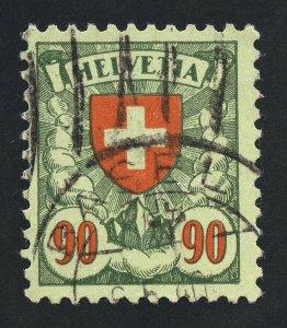 01878 Switzerland Scott #200a, 90c used, grilled gum