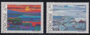 Faroe Islands 166-167 MNH (1987)