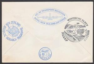 NEW ZEALAND ANTARCTIC 1978 RNZAF signed flight cover ex Scott Base.........27808
