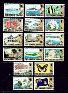 Gilbert Is 269-84 MNH 1976 Definitive set