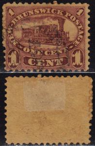 New Brunswick Canada - 1860 - Scott #6 - used