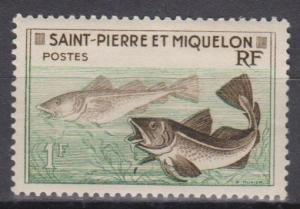 St Pierre & Miq #352 F-VF Unused