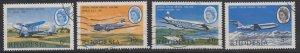 Rhodesia, Sc 241-244 (SG 393-396), used