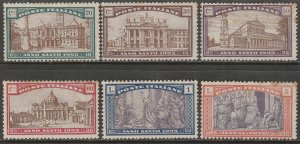 Italy B20-B25, HOLY YEAR, CPLT SET. MINT, NH, LITTLE FOXING. VF. (135)