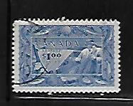 CANADA, 302, USED, POSTAGE DUE, FISHERMAN