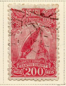 Brazil 1929 Early Issue Fine Used 200r. NW-12098