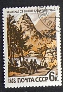 Geography and places, mountains, 1968, (1052-T)