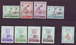J24048 JLstamps 1963 lebanon sets mh #c372-5,c376-9,c380 set of 1