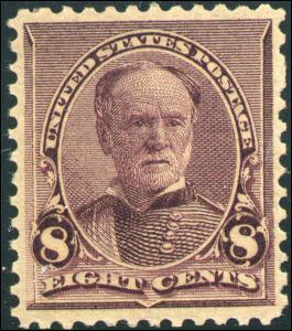 1893 US #225 A66 8c Mint Never Hinged Stamp Catalogue Value $135