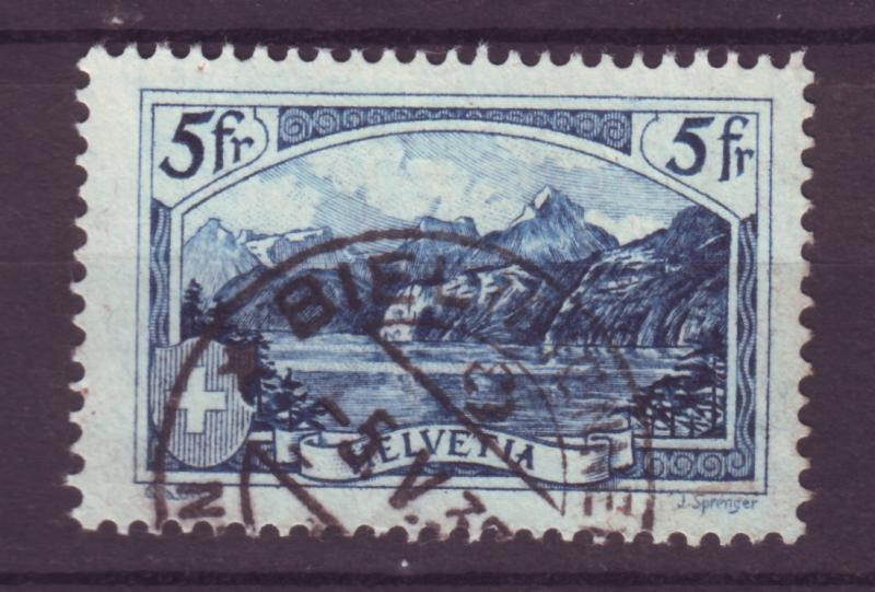 J12641 JLstamps 1928 switzerland set of 1 used #206 the rutli