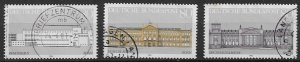 GERMANY  1986  - used -   SET - single stamps from block