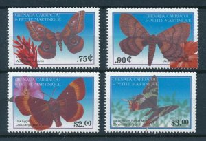 [108931] Gren. Carriacou & Petite Martinique 2001 Insects butterflies moth  MNH