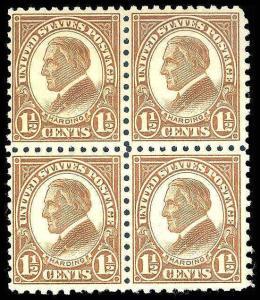 U.S. 1922-25 ISSUES 582  Mint (ID # 82245)
