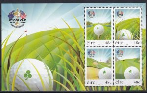 Ireland 2006 Golf MNH Block