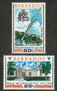 Barbados 304-305 Mint VF NH