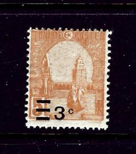 Tunisia 115 MH 1928 surcharge