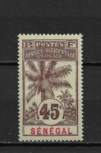 Senegal 1906,45c,Sc 67A,VF Mint hinged*OG ,nice color ! (FC-6)