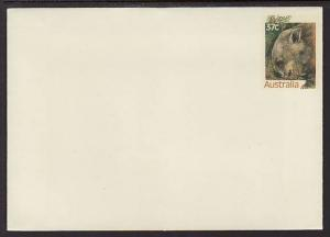 Australia Wombat Unused Postal Envelope