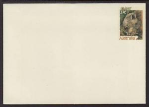 Australia Wombat Unused Postal Envelope