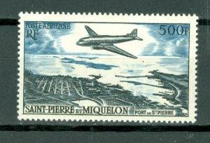 ST.PIERRE & MIQUELON  PLANE #C20...MINT...$62.50