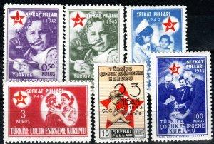 Turkey #RA64-9  MNH  CV $8.85 (X9713)