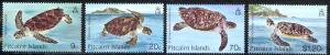 Pitcairn Islands Sc# 266-269 MNH 1986 Turtles