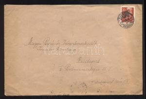 Hungary stamp Inflation cover Cover 1946 WS122207