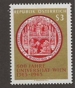 AUSTRIA  # SC 743   MNH