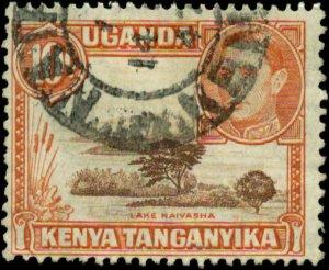 Kenya, Uganda & Tanzania Scott #69a SG #134b Used  Perf 14