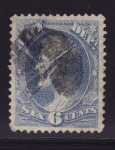 O38 XF used  neat cancel with nice color cv $ 30 ! see pic !