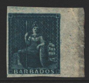 Barbados Sc#3c MH - Deep Slate