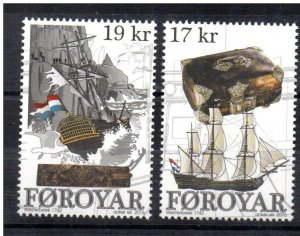 FAROE ISLANDS - SHIPS - WESTERBEEK 1742 - 2016 -