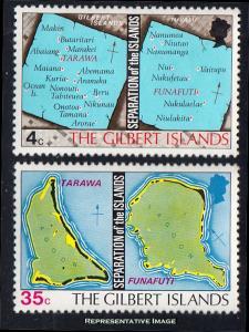 Gilbert Islands Scott 267-268 Mint never hinged.