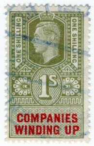 (I.B) George VI Revenue : Companies Winding Up 1/-
