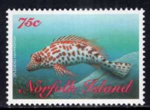 Norfolk Island 652 Fish MNH VF